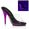 POISE - 501UV Clear/Neon Purple